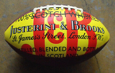 J&B Justerini & Brooks Scotch Whiskies Football Collectible