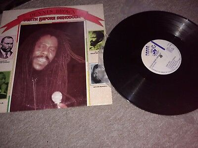 Dennis Brown ‎– Death Before Dishonour-Lp/Vinyl/Record
