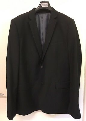 Topshop TopMan Black Men's 2-piece Suit.