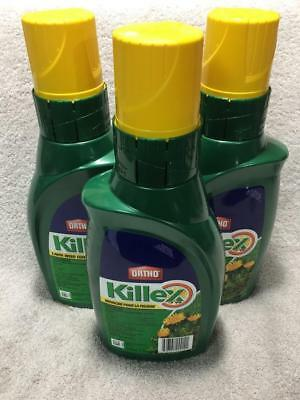 FREE EXPEDITED SHIPPING with Tracking - 3x Bottles KILLEX 1L Concentrate