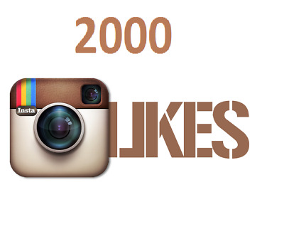 2,000 [2K] Instagram/Likes Or Video/Views - Fast and 100% Safe - UK Seller