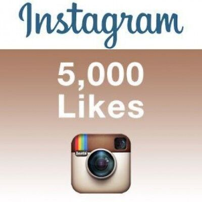 5,000 [5K] Instagram/Likes Or Video/Views - Fast and 100% Safe - UK Seller