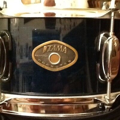 Tama Rockstar Snare with Padded Case