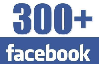 300 Facebook/Business Fan Page/ Or/Photo/Post/Status/Likes - 100% Safe