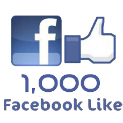 1,000 [1K] Facebook/Business Fan Page/ Or/Photo/Post/Status/Likes - 100% Safe