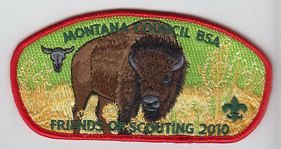 Montana Council Boy Scout CSP Patch - 2010 Friends of Scouting FOS