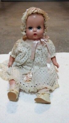 Antique 1947 Composition '' A Horsman Doll '' Sleepy Eyes 20''Tall Baby Doll