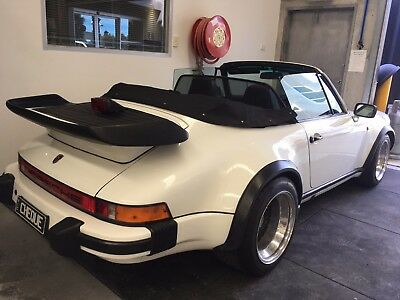 Porsche 911 Sc Cabriolet Factory Steel Wide Body 3.0  Stunning Condition 9Iklms