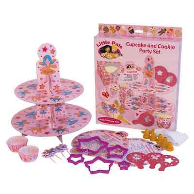 Little Pals Cupcake and Cookie Cooking Baking Party Set - Pink
