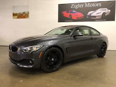 2014 BMW 4-Series Base Coupe 2-Door 2014 BMW 428i Coupe Grey,27kmi,Clean carfax,Backup,Driver Assist