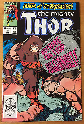 THE MIGHTY THOR #411 (Marvel Dec.1989) NM 9.4 Free S&H