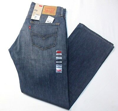 New Men Levi's 559 Relaxed Straight Fit Jeans Indie Blue size:  - X4258
