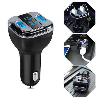 Car Real Time GPS Tracker Location Track Device Dual USB Car Charger Auto Motor