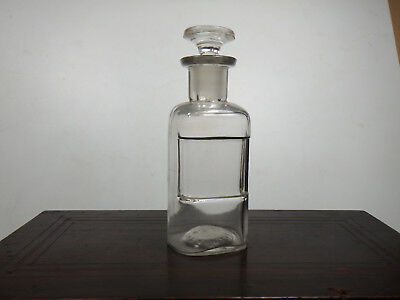 Choice Antique Washington Territories Glass Over Label Bottle