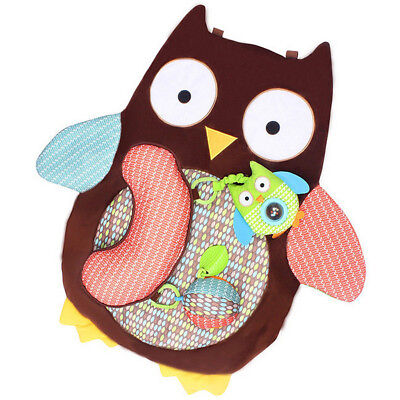 Baby Gym Play Crawling Mat Game Activity Toy Waterproof Owl Blanket Gift Dulcet