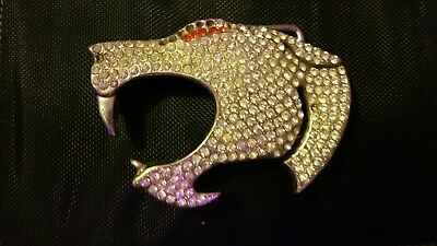 Jaguar diamante belt buckle