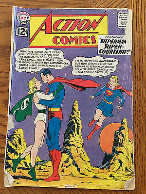 Action Comics #289 (June 1962), Silver Age Superman comic in Fair Condition