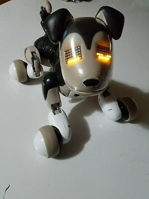 Used Zoomer Interactive Puppy Shadow Robot Dog Electronic Toy