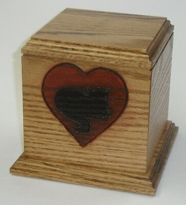 Cat in my heart pet cat cremation urn