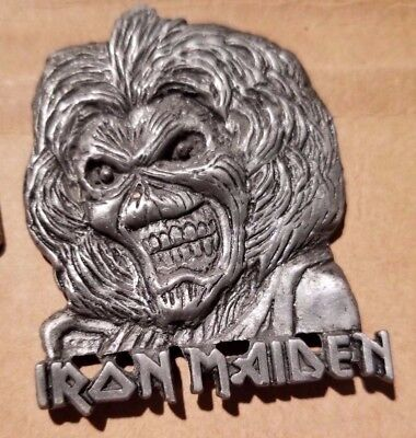 Iron Maiden Eddie Pinback Lapel Pin - Good luck finding another like it