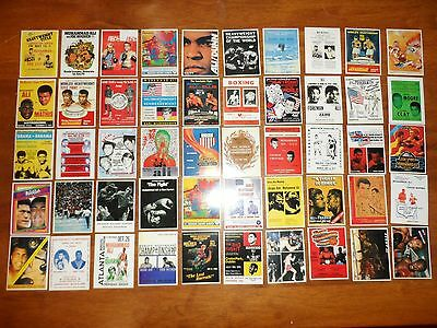 Muhammad Ali boxing cards,complete set of 50