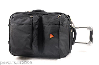 22 Inch Fashion Lovely Practical Traveling Universal wheel Black Suitcase