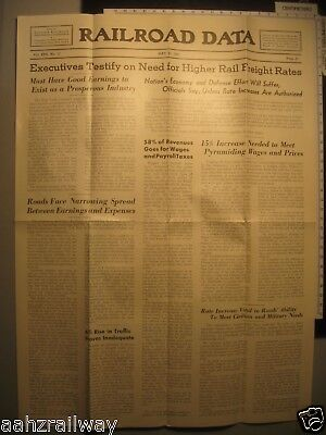 May 25 1951 - Railroad Data Newspaper - Eastern Railroad Presidents Conference