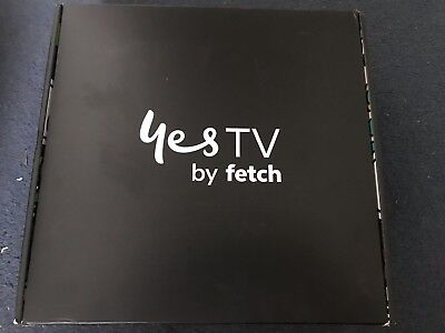 Optus Fetch TV Mighty Set Top 1TB HD Record NEW