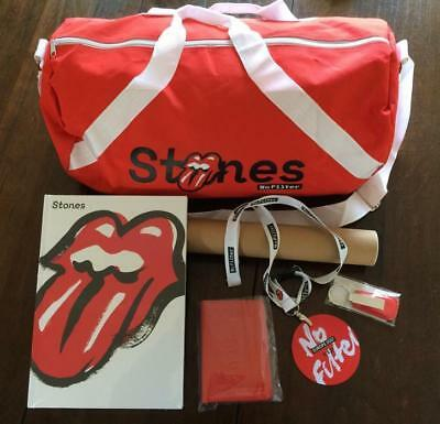 Rolling Stones No Filter TOUR EUROPE 2017 VIP Package very RaRe !!!