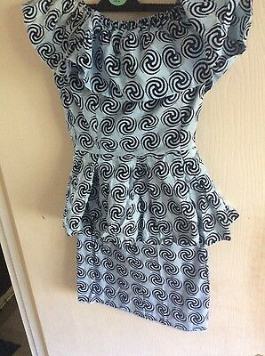 TRADITIONAL AFRICAN WOMEN OUTFIT/Teo piece skirt and top