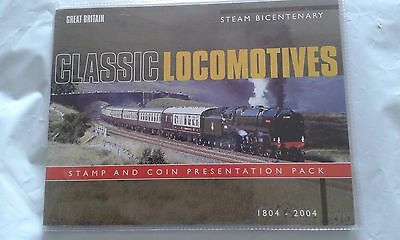 2004 Great Britain GB UK Two Pound £2 coin Uncirculated Classic Locomotive Steam