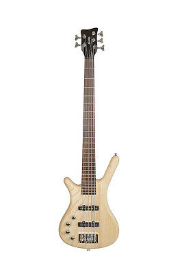 Monaco by Quincy Left Handed 5 String Electric Bass Guitar thumb shape lefty UK