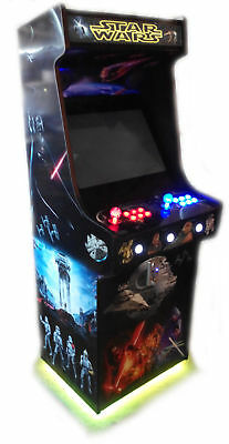 CUSTOM DESIGN Arcade Artwork Vinyl Stikers Graphics High Quality Water Resistant