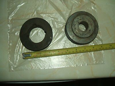 2 Double A Section Pulleys