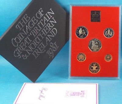 1981 United Kingdom Official Proof Coin Collection
