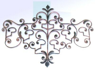 Coat Hangers Clothes Hook Wrought Iron to death 7 Posti Black Made Italy