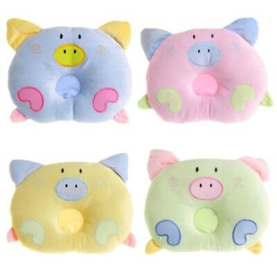 Pig Piggy Soft Pillow Newborn Infant Baby Support Cushion Pad Prevent Flat Head
