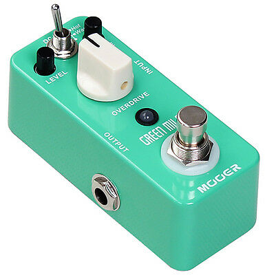 Pedale chitarra Mooer Green Mile Overdrive Nuovo!!