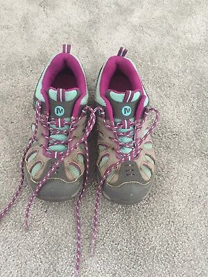 Girls Merrell Walking Shoes Trainers Size 13