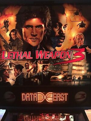 Lethal Weapon 3 Pinball Machine 1992