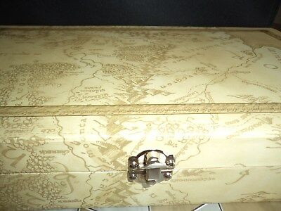 Lord Of The Rings Collector's Models Issue Cream Chess Case Brand New In Box