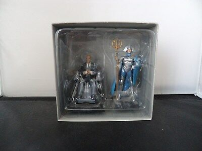 Classic Marvel Figurine Collection - Special Issue Professor X &  Lilandra