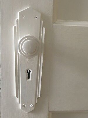 art deco door handles