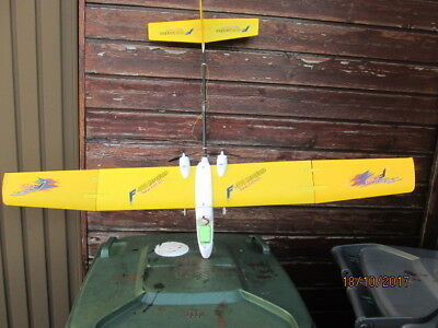 """Radio Controlled Twin Engined Model Plane - 42"""" W/span  By Marchand  Very Good"""