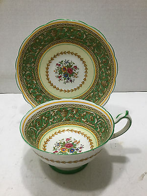 "Vintage Antique Royal Paragon ""Corinthian"" Teacup and Saucer"