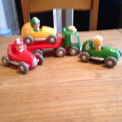Happyland Racing Car Set