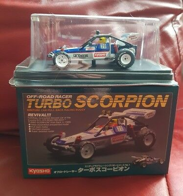 Kyosho Off-Road Racer Turbo Scorpion 04004 miniature car pull - back racing