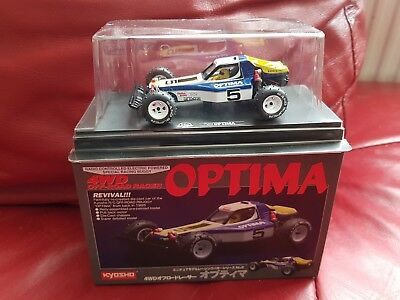 Kyosho 4WD Off-Road Racer Optima 04003 Die-cast Revival New in box car buggy