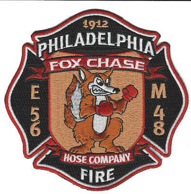 Philadelphia Fire Dept. Engine 56 Fox Chase (New Oct 2017)  Fire Patch