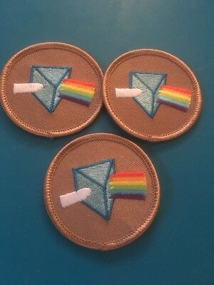 3 Funny Boy Scout Patrol Patches The Pink Floyd Patrol!